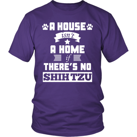 A House Isn't A Home If There's No Shih Tzu