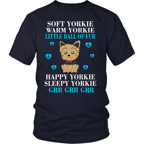 Soft Yorkie Warm Yorkie Little Ball Of Fur Happy Yorkie Sleepy Yorkie Grr Grr Grr