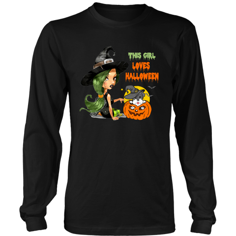 This Girl Loves Halloween Schnauzer