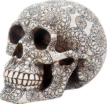 Gothic skull, Made from Polyresin material,