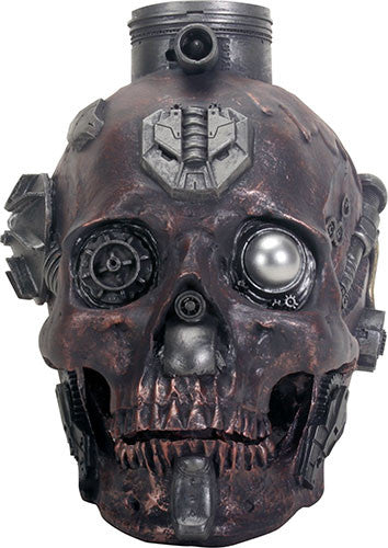MACHINE SKULL RUSTED