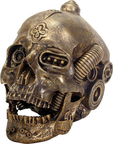MACHINE SKULL GOLD