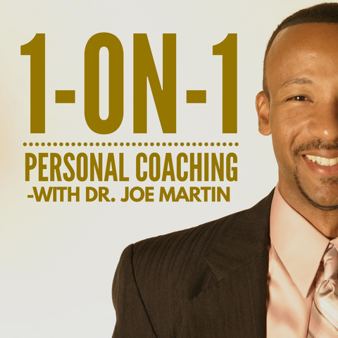 1-on-1 Personal Coaching (4 Sessions with Dr. Joe)