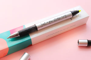 Pen + Highligher Duo