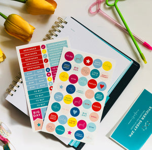 My Infinite Agenda - Sticker Packet (2PK)