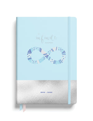2019-2020 Midyear Planner - Light Blue with Silver Foil