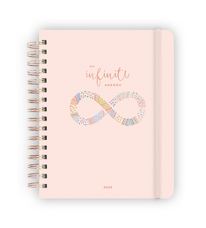 My Infinite Agenda - Blush/Rose Gold 2020 ($58)
