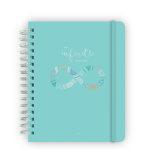 My Infinite Agenda - Teal/Silver (2020)