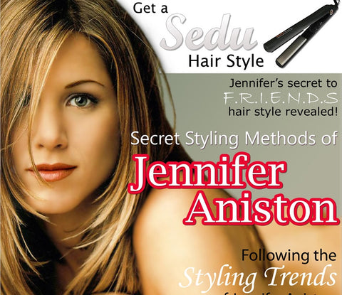 """Following the Secret Styling Methods and Trends of Jennifer Aniston"" Ebook by Randal Jon. - Elixhair Luxury Hair Care Formulas"