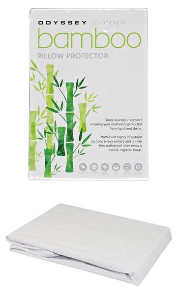 Odyssey Living Bamboo Pillow Protector