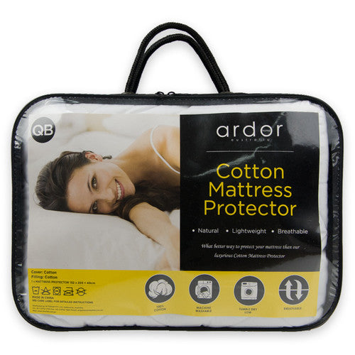 Ardor Cotton Mattress Protector King Single