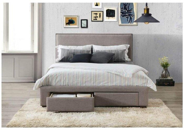 Citta Queen Upholstered Bed Frame