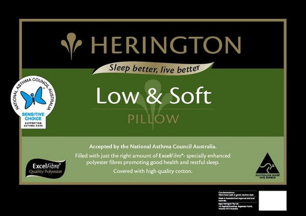 Herington Low and Soft Pillow