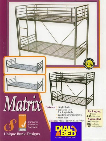 Matrix Single Bunk