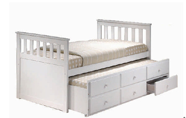 Maya Captains Single Bed
