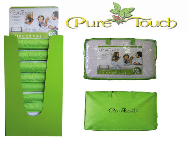 Puretouch Latex Contoured Pillow