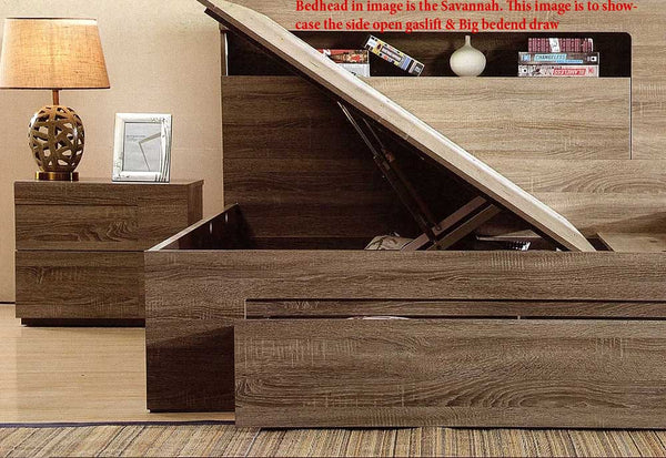 Stanly Gas Lift Frame King Mocha Dial A Bed