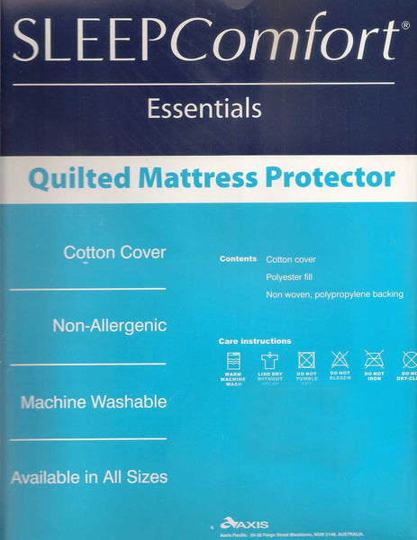 Sleep Comfort Essentials King Single Mattress Protector
