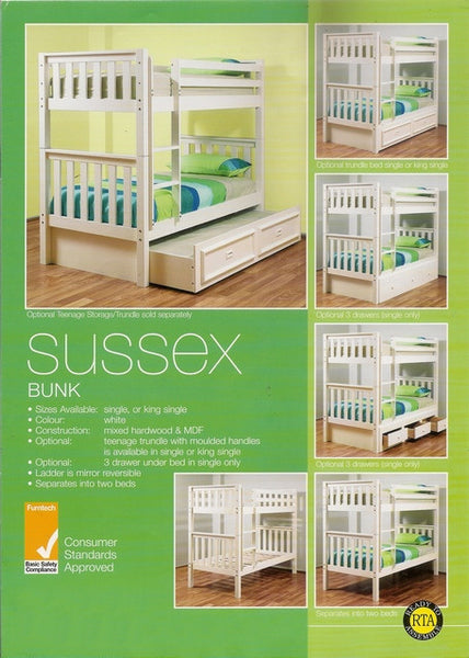 Sussex Single Bunk