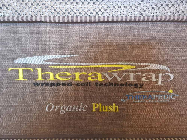 Therawrap Organic Plush King Mattress