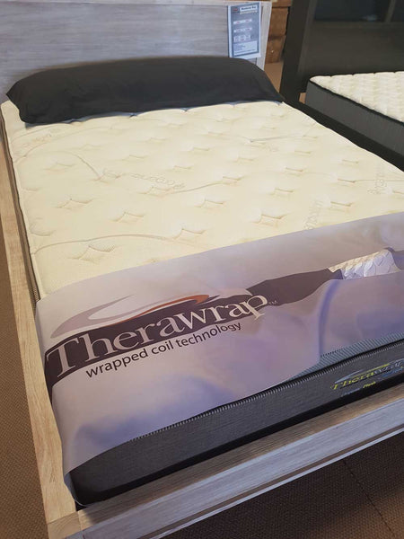 Therawrap Organic Plush King Single Mattress