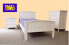Stella King Single Solid Bedroom Suite