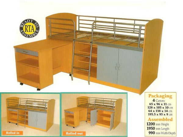 Combo Space-Saver Bunk (Single)