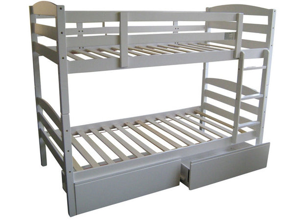 Cosmos Bunk Single White
