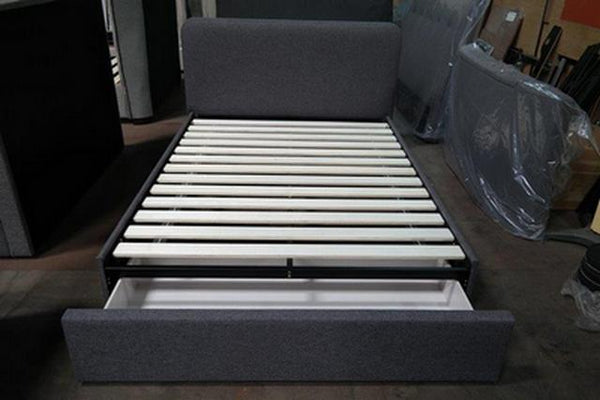 Cove King Single Upholstered Bed Frame