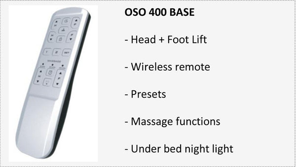 Reverie OSO 400 Adjustable Base