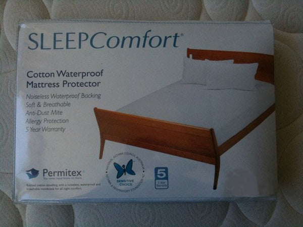 Permitex Waterproof Queen Mattress Protector