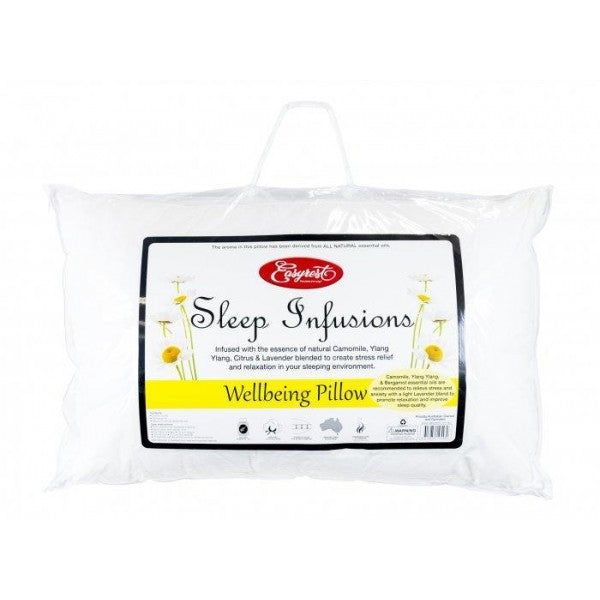 ER Sleep Infusions Well Being Pillow