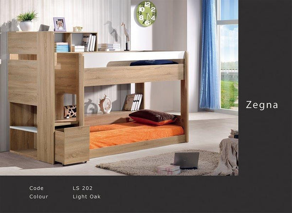 Zegna Bunk Single with Storage