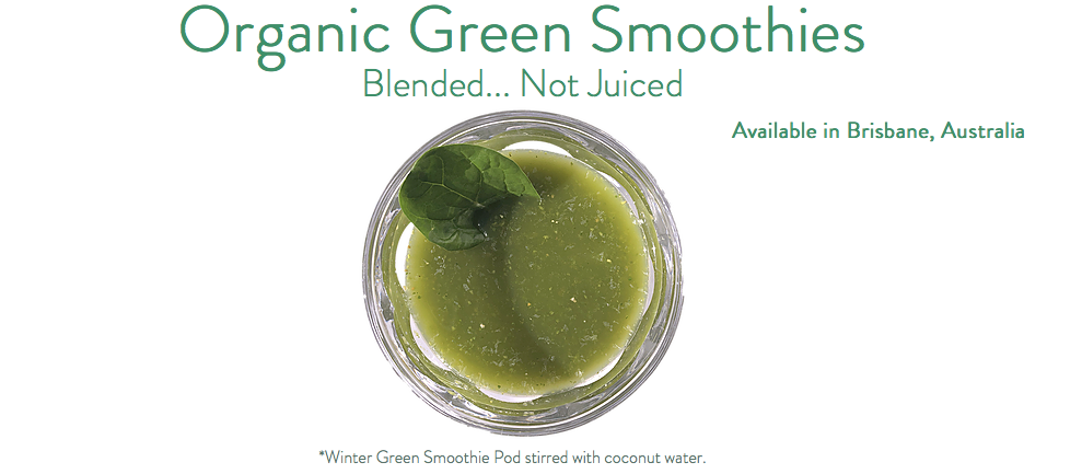 Get Your Organic Green Smoothies On!