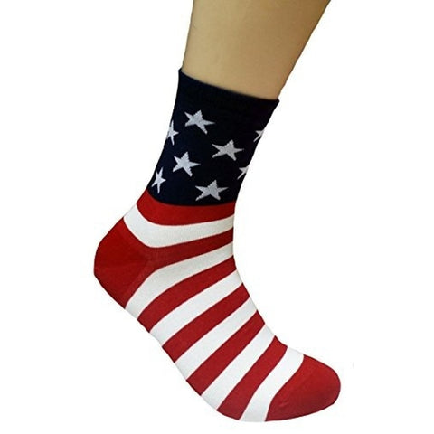 Patriotic Star Spangled Socks,  Footwear - Found Lost Outdoors