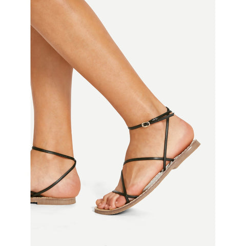 Criss Cross Flats,  Footwear - Found Lost Outdoors