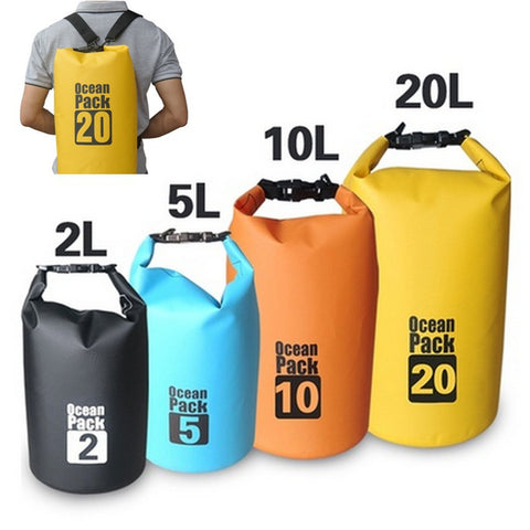 Premium Lightweight Dry Sack/Dry Bags,   - Found Lost Outdoors