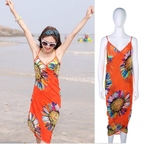 Floral Swimwear Cover Up,   - Found Lost Outdoors