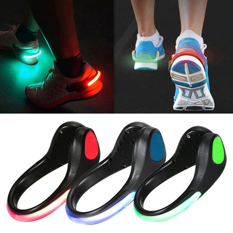 LED Luminous Shoe Clip  Warning Light,  survival - Found Lost Outdoors