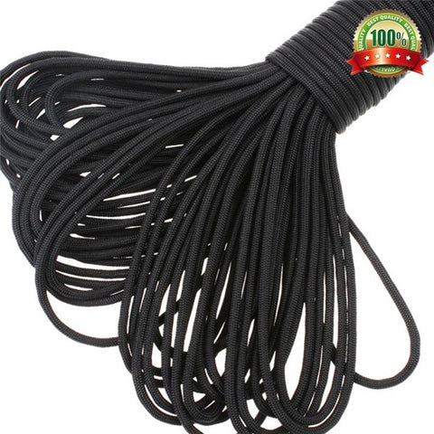 550 Parachute Rope 7 Core Strand 100FT Camping Paracord,  Survival - Found Lost Outdoors