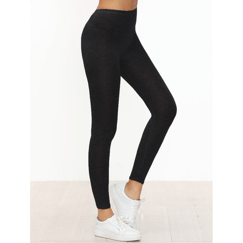 Black Skinny Casual Leggings,  Women - Apparel - Activewear - Leggings - Found Lost Outdoors