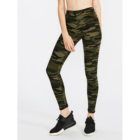 Women's Active Camo Print Leggings,  Women - Apparel - Activewear - Leggings - Found Lost Outdoors