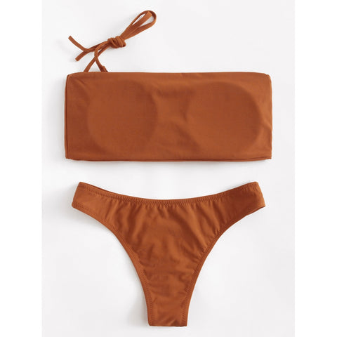 Detachable Straps Bikini Set,  Women - Apparel - Swimwear - Bikinis Separates - Found Lost Outdoors