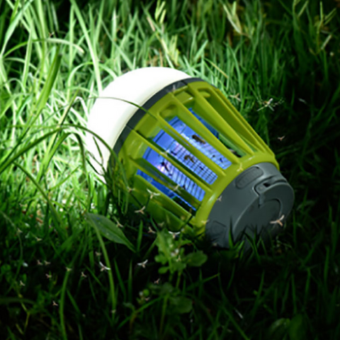 Mosquito Zapping Camping Lantern,   - Found Lost Outdoors