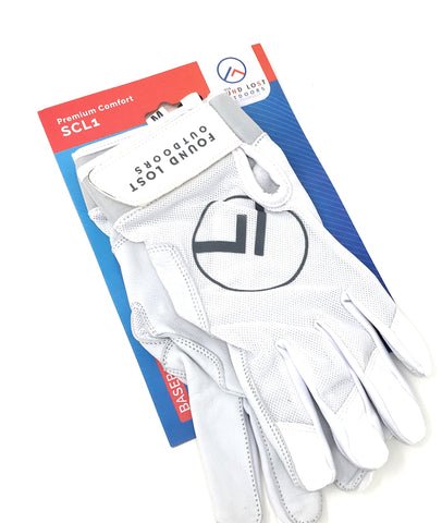 Found Lost Outdoors SCL1 100% Seamless Leather Palm Batting Gloves