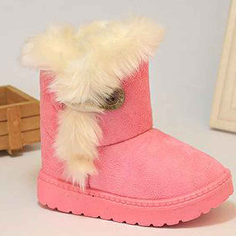 Girl's Furry Snow Boots,  Kids & Babies - Found Lost Outdoors