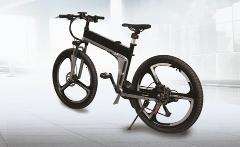 Pedelec Folding E Bike - 350w Electric Bicycle,   - Found Lost Outdoors