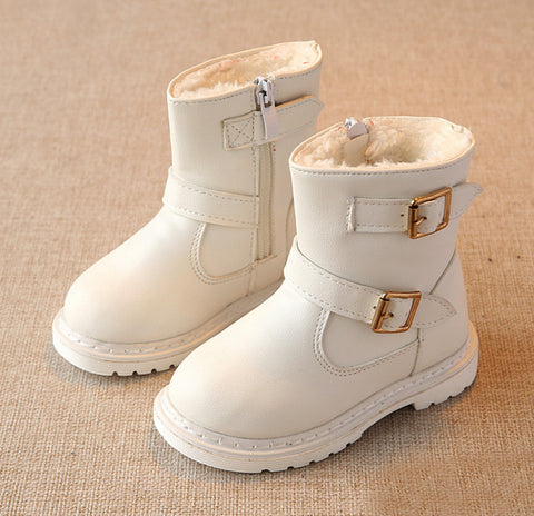 Winter Children Snow Boots with Fur for Girls | Size 6-8,  Kids Shoes - Found Lost Outdoors