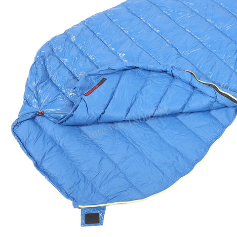 Aegismax M2 Lengthened Blue Wing Mummy Ultralight Sleeping Bag,   - Found Lost Outdoors