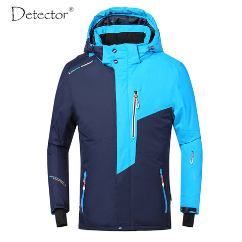 Detector Unisex Winter Waterproof Windproof Ski Jacket,   - Found Lost Outdoors